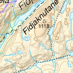 Fossjuvet – Forsand – Røssdalen – Kart – Telt – Tur